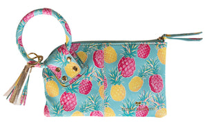 Simply Southern Pineapple Bangle Wallet
