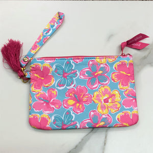 Simply Southern Hibiscus Wristlet
