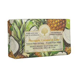 Wavertree & London Pineapple Coconut and Lime Bar Soap