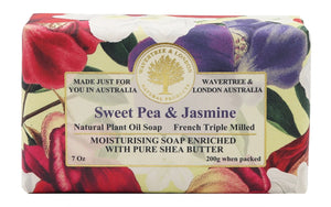 Wavertree & London Sweet Pea and Jsmine Bar Soap