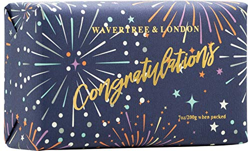 Wavertree & London Congratulations Bar Soap