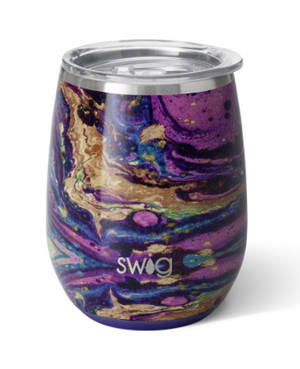 Swig Purple Rain Stemless Wine Glass