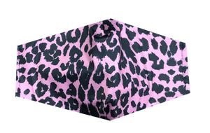 Women's Mask-Pink Cheetah Print