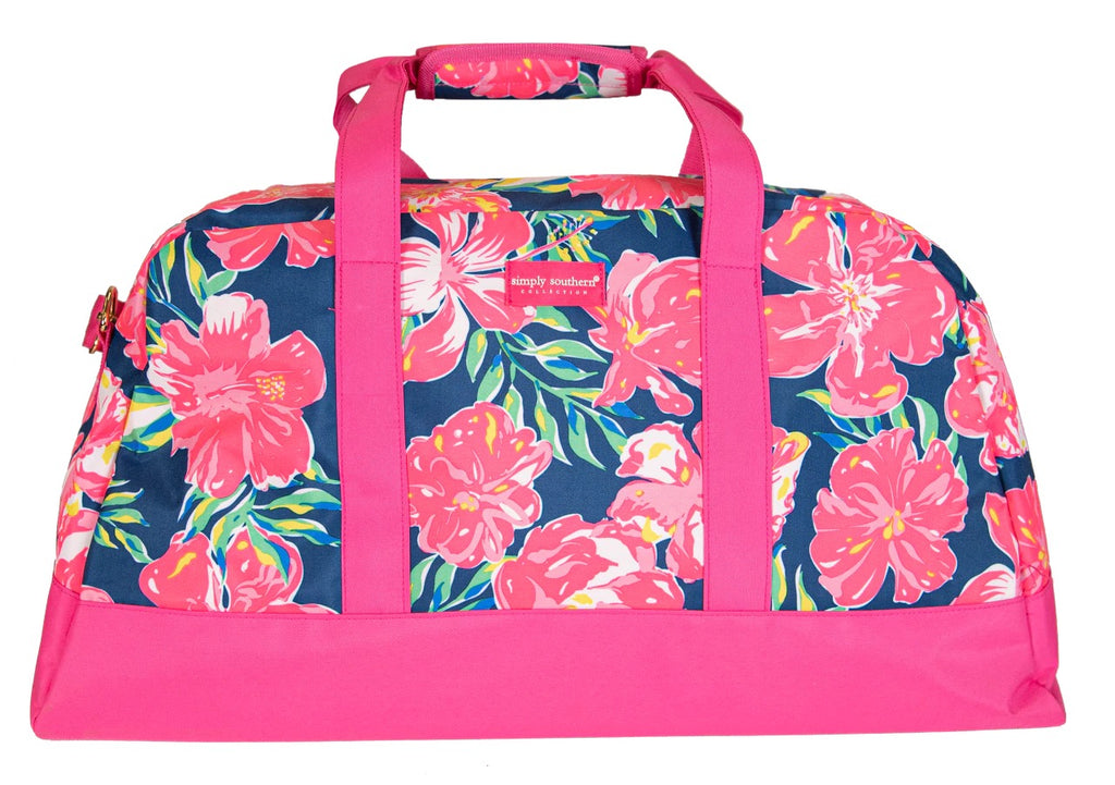 Simply Southern Hibiscus Travel Bag