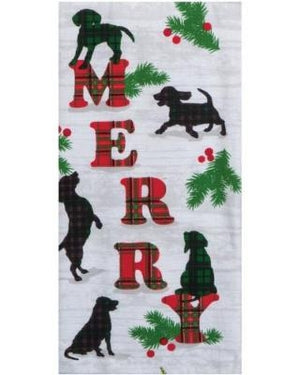 Kaydee Designs Merry Towel-Dogs