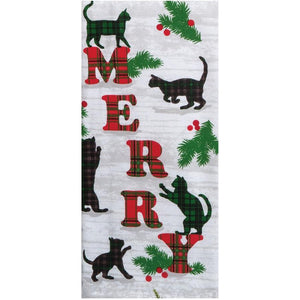 Kaydee Designs Merry Towel-Cats