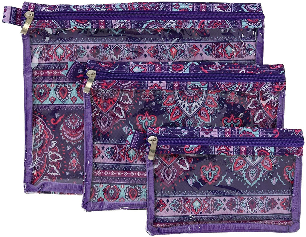 Sage & Emily 3 Piece Organizer-Purple