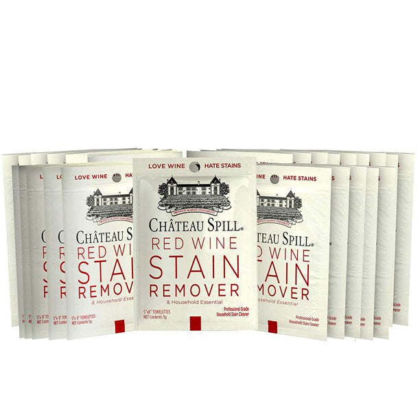 Red Wine Stain Remover Wipes