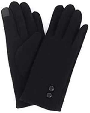 Jack and Missy Black Gloves