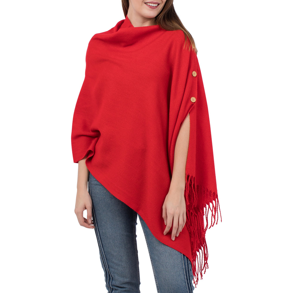 Top It Off 3-Way Wrap-Red