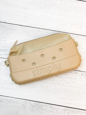 Simply Southern Clutch-Gold