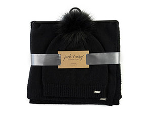 Jack and Missy Knit Wear Set-Black