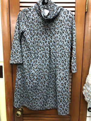 Top It Off Leopard Dress