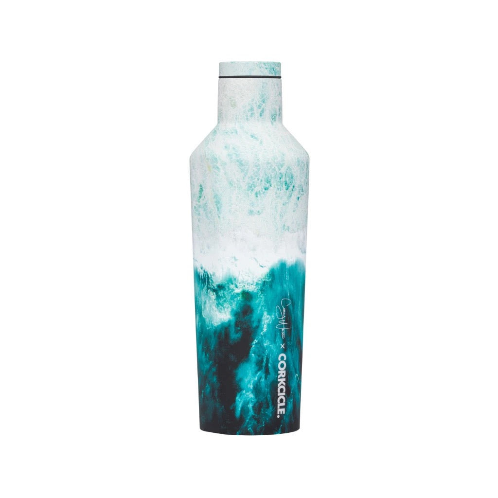 Corkcicle 16oz. Canteen-Big Waves