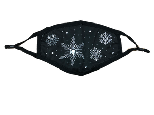 Snowflake Bling Mask-Style 1