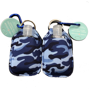 Hand Sanitizer 2 Pack-Blue Camo