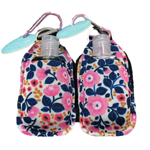 Hand Sanitizer 2 Pack-White Floral