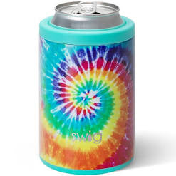 Swig 12oz Can and Bottle Cooler-Swirled Peace