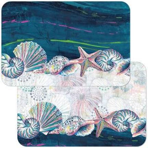 Reversible Jewels of the Sea Placemat