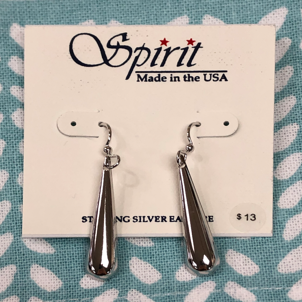 Spirit Long Tear Drop Earrings