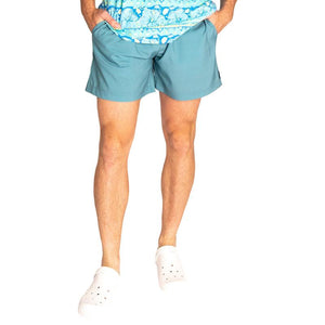 Simply Southern Guys Hibiscus Shorts