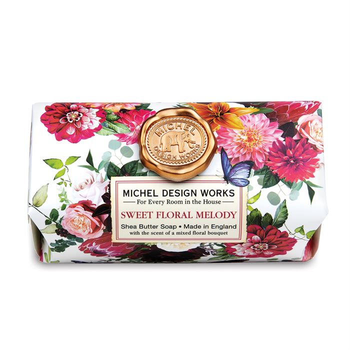 Michel Design Works Sweet Floral Melody Bar Soap