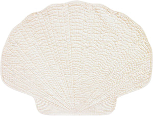 Shell Placemat-White