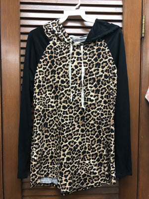 Chris and Carol Leopard Hoodie