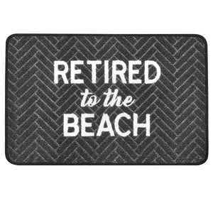 Retired to the Beach Doormat
