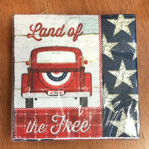 Land of the Free Napkins