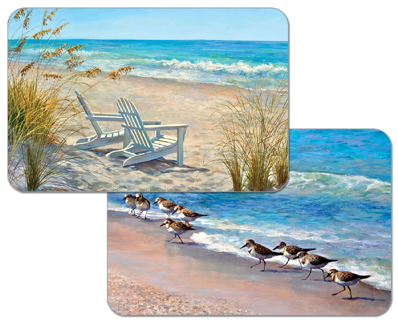 Reversible Beach Placemat