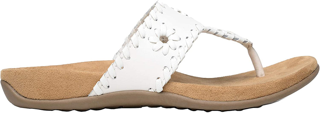 Minnetonka Mya White Sandals
