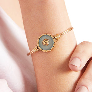 Luca + Danni Shell Isla Bangle