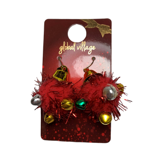 Global Village Jingle Bell Earrings