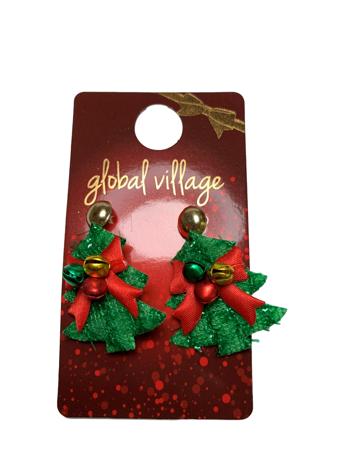 Jingle Christmas Tree Earrings