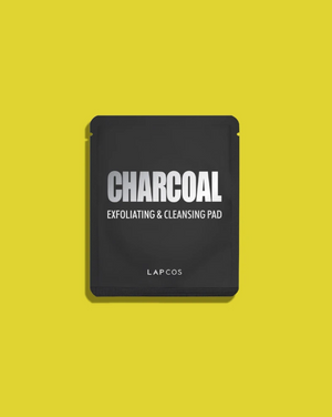 #527 LAPCOS CHARCOAL EXFOLIATING & CLEANSING PAD