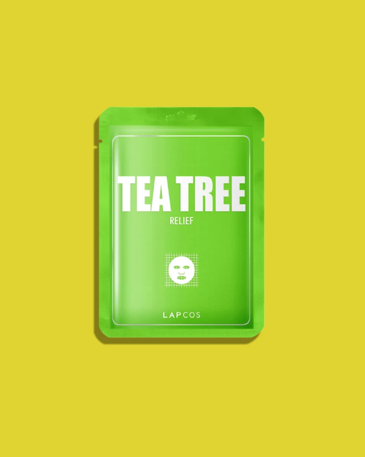 LAPCOS DERMA SHEET MASK TEA TREE
