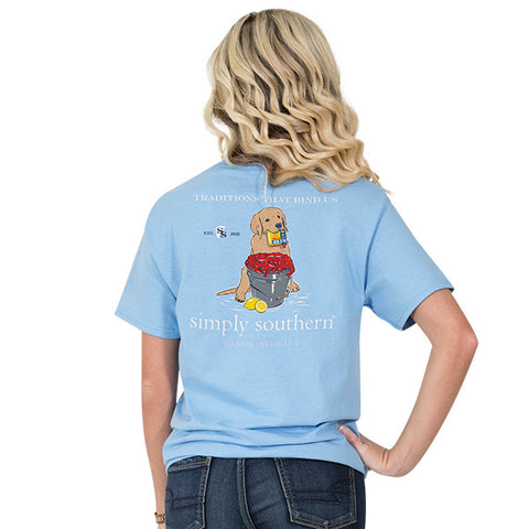 Simply Southern Old Bay Dog T-shirt