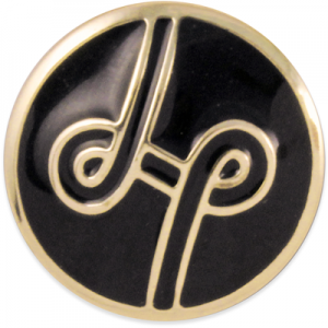 Lindsay Phillips LP Logo Black Snap