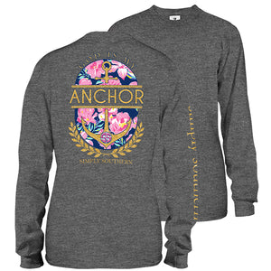 Simply Southern God Is My Anchor Long Sleeve T-Shirt
