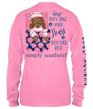 Simply Southern Take Your Bed Long Sleeve Tee