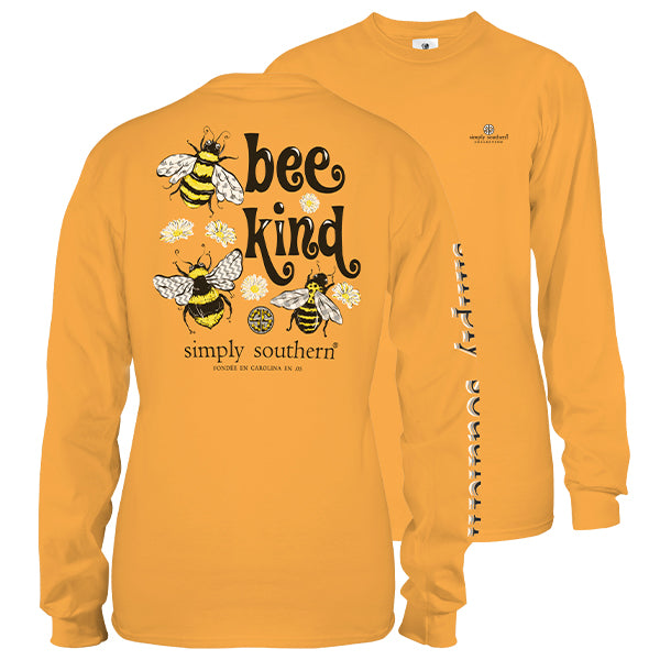 1919c9be166c Simply Southern Bee Kind Long Sleeve T-Shirt