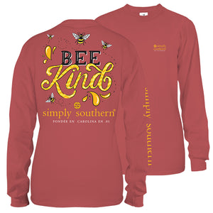 Simply Southern Bee Kind Long Sleeve T-Shirt
