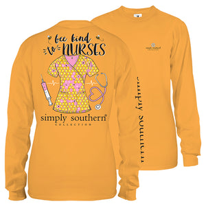 Simply Southern Nurse Long Sleeve T-Shirt
