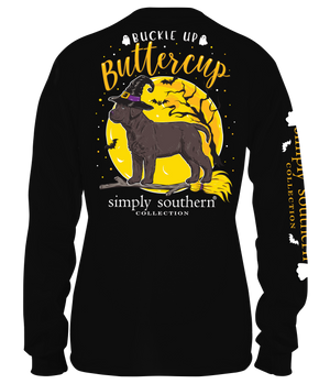 Simply Southern Buckle Up Buttercup Long Sleeve Tee