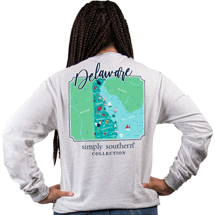 Simply Southern Delaware Long Sleeve T-Shirt