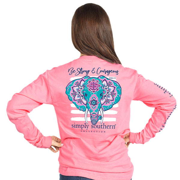 Simply Southern Elephant Long Sleeve T-Shirt