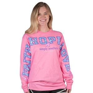 Simply Southern Pink States Fan Jersey