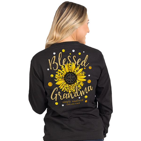 Simply Southern Blessed Grandma Longsleeve T-Shirt
