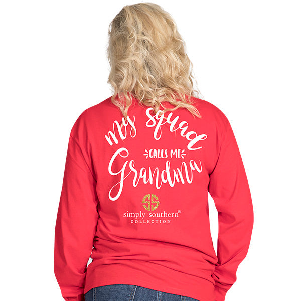 Simply Southern Grandma Long sleeve T-shirt